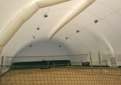Airdome volley