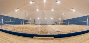 Airdome beach volley