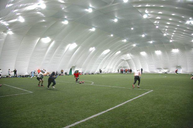 Airdome fodbold