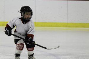 Lille hockeyspiller